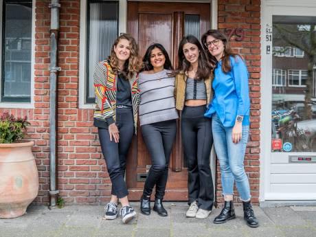 Buitenlandse studenten maken er het beste van: 'Wie wil er in onzekere tijden nou niet bij familie zijn?'