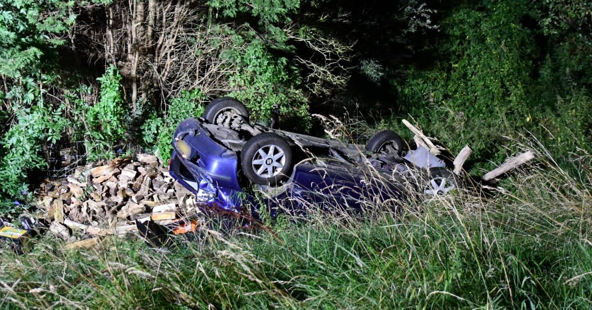 Twee gewonden bij ongeluk in Driewegen.