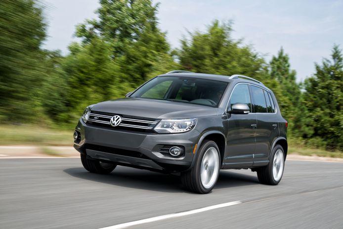 La Tiguan (VW) est le seul modèle européen dans le top 5.