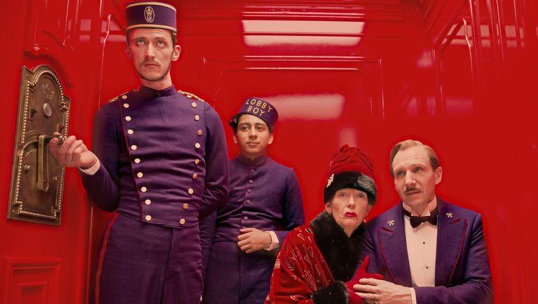 The Grand Budapest Hotel van Wes Anderson met 11 BAFTA-nominaties aan de haal.