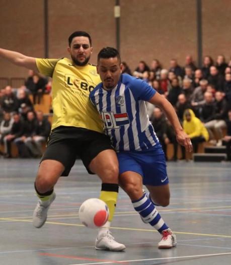 Bekeravontuur zaalvoetballers FC Eindhoven na spektakelstuk voorbij