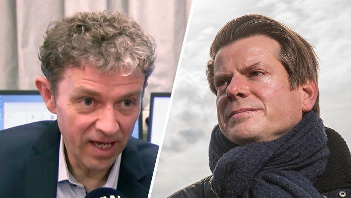 Frank Deboosere en David Dehenauw.
