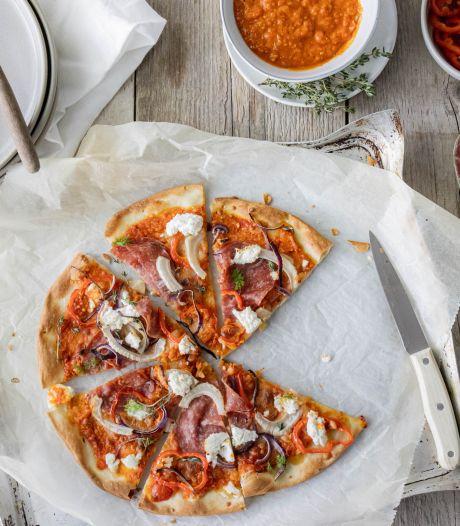 De pizza's waren zo lekker dat mijn nare nasmaak over het discrimineren van de ouderwetse mens werd verdreven