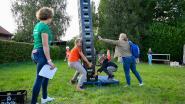 Belse Madammen geven kinderen Vlaamse Kermis
