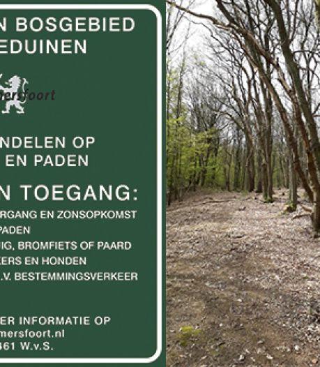 Fietsers en honden niet meer welkom in bosgebied Bokkeduinen