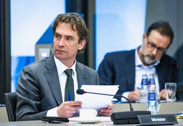 Bas van 't Wout, demissionair minister van Economische Zaken en Klimaat.