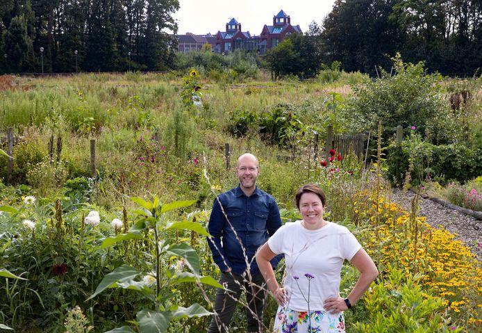 Ralf Fleuren en Sonja van Uden willen een stadsboerderij beginnen in Brandevoort: 'We doen dit voor de hele stad'