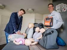 Reanimatiecursussen in Westerhaar kunnen coronaproof dankzij gulle donatie