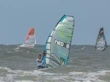 Van Rijsselberghe zakt op WK windsurfen, De Geus zesde