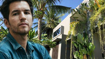 Vader Matteo Simoni bouwde enige huis dat overeind bleef in rampgebied Lombok