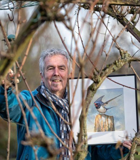 Late vogel van Nieuwkoper Bas Bijl wint prijs bij Vroege Vogels: 'Dit had ik nog nooit gezien'