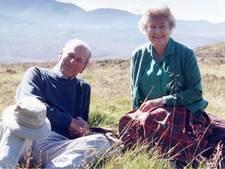 Koningin Elizabeth deelt foto van haar en Philip
