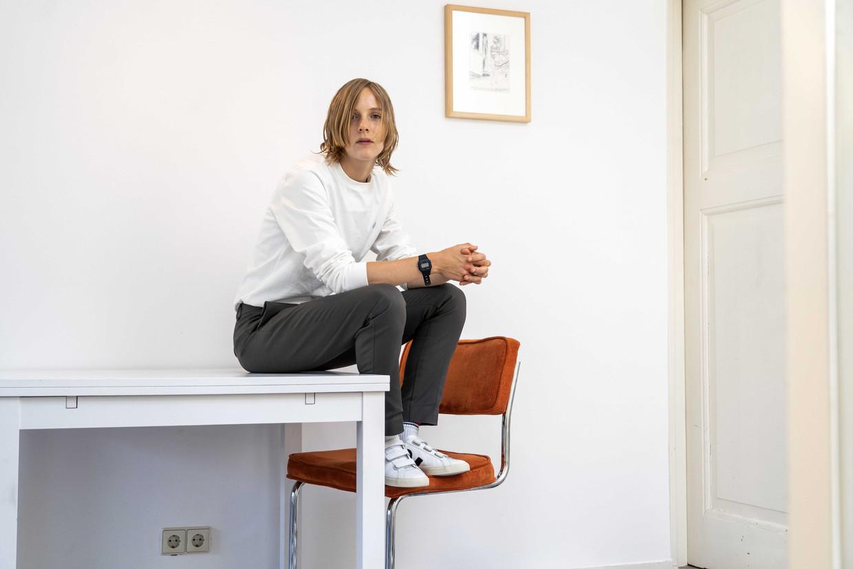 Schrijver Marieke Lucas Rijneveld.  Beeld BELGAIMAGE