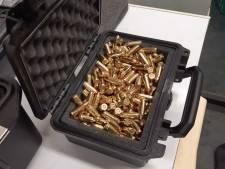 Vuurwapens en kogels gevonden in bedrijfspand Zevenbergen