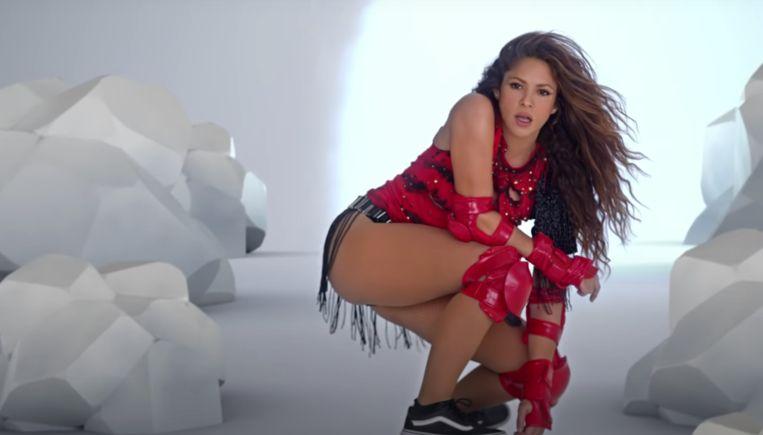 Shakira in 'Girl Like Me' Beeld Sony