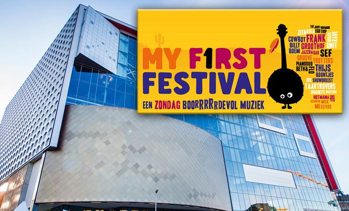 TivoliVredenburg stopt met kinderfeesten met thema 'cowboys en indianen'. Inzet: De poster van het festival