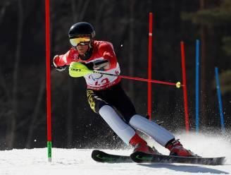 Jasper Balcaen wordt vijftiende in slalom Paralympische Winterspelen en mag morgen vlag dragen tijdens slotceremonie
