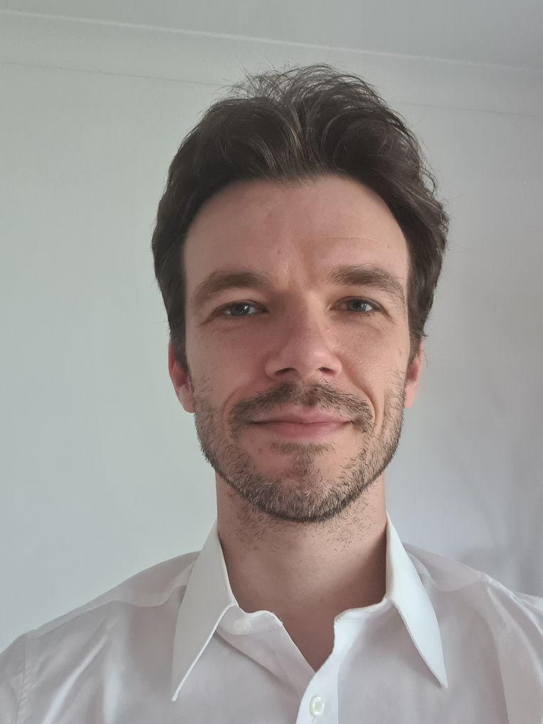 Michel Lamine. Beeld HUMO
