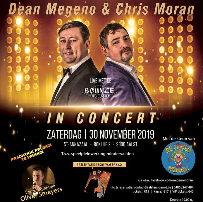 Dean Meagano & Chris Moran in concert.