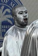 Een beeld uit de opera van Kanye West