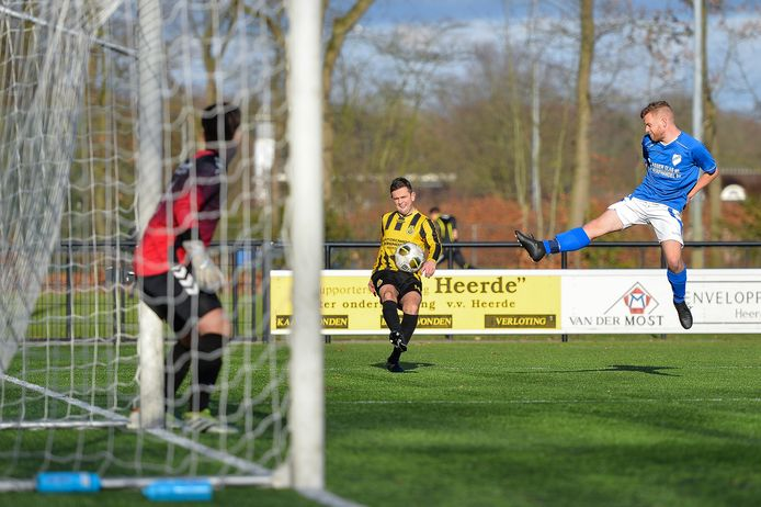 De geelzwarten van VV Heerde zijn komend seizoen te zien op zaterdagmiddag.