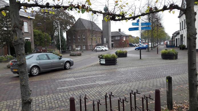 De befaamde driehoek in Schaijk, hier nog in bedrijf.