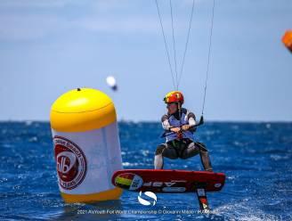 """Kitesurfer Daan Baute trots met vierde plaats op WK: """"Aangenaam verrast over mijn niveau"""""""