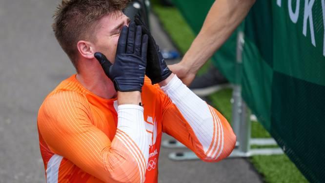 """Tranen van geluk bij Nederlandse BMX'er Kimmann, die met barst in knie naar goud vliegt: """"Ik snap er geen fluit van"""""""