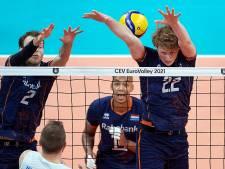 Volleyballers kunnen niet stunten tegen Europees kampioen Servië