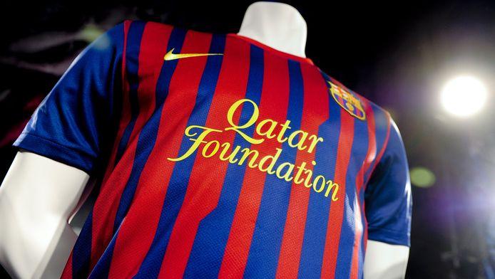 """La """"Fondation Qatar"""", sponsor principal de Barcelone, a été fondée par le Cheik al-Thani, propriétaire du Paris-Saint-Germain."""
