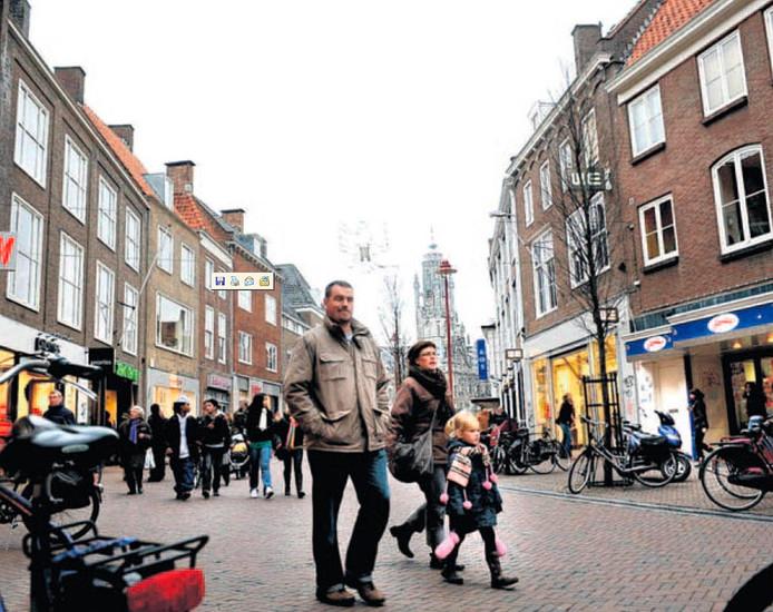 De Lange Delft in Middelburg.