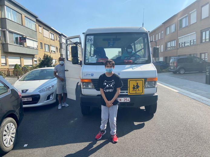 Tuncay (13) werd woensdag 2 uur en 15 minuten na het einde van de schooldag thuis afgezet