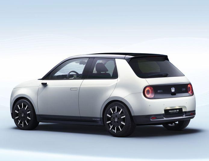 De puur elektrische Honda e.