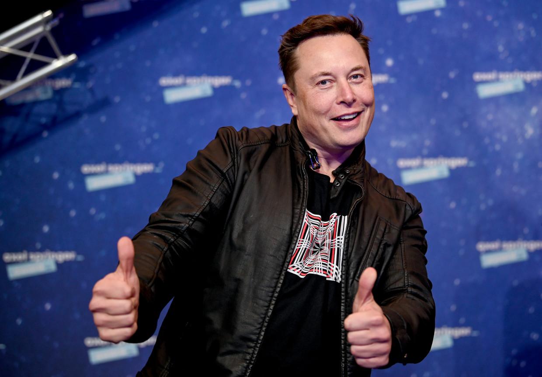 Elon Musk is de rijkste man op aarde.  Beeld AFP