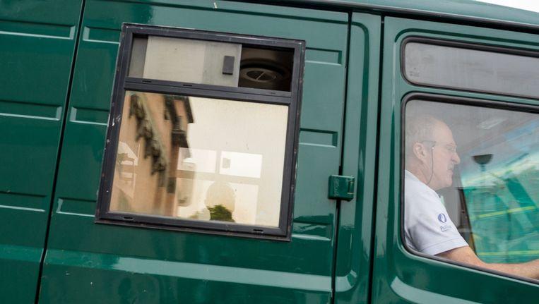 Jean-Marie Tinck, verdacht in dossier Bende van Nijvel, verschijnt voor de KI. Beeld PHOTO_NEWS
