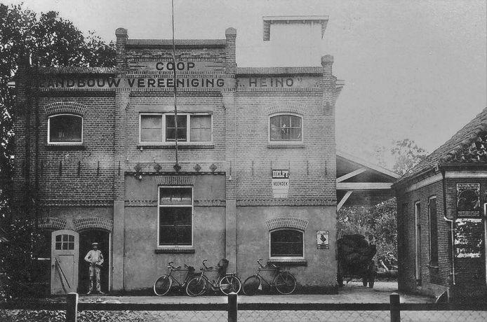 Het verenigingsgebouw in 1938