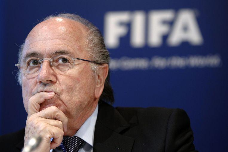 Sepp Blatter in 2010 Beeld AFP