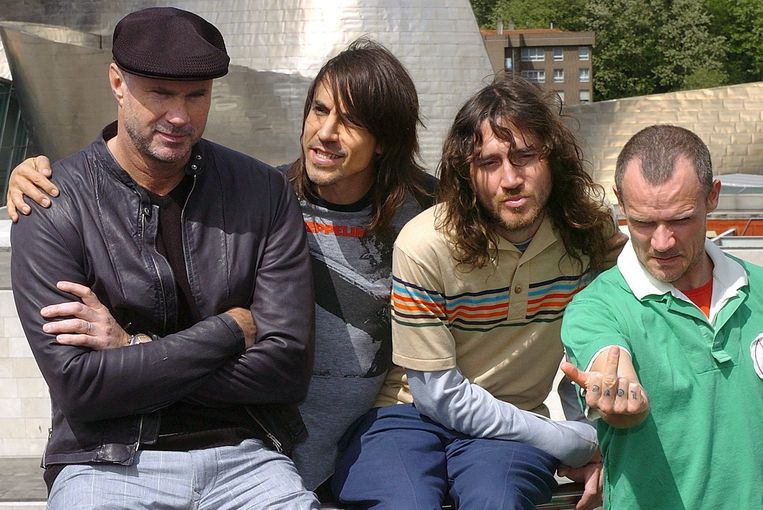 Red Hot Chili Peppers. Beeld EPA