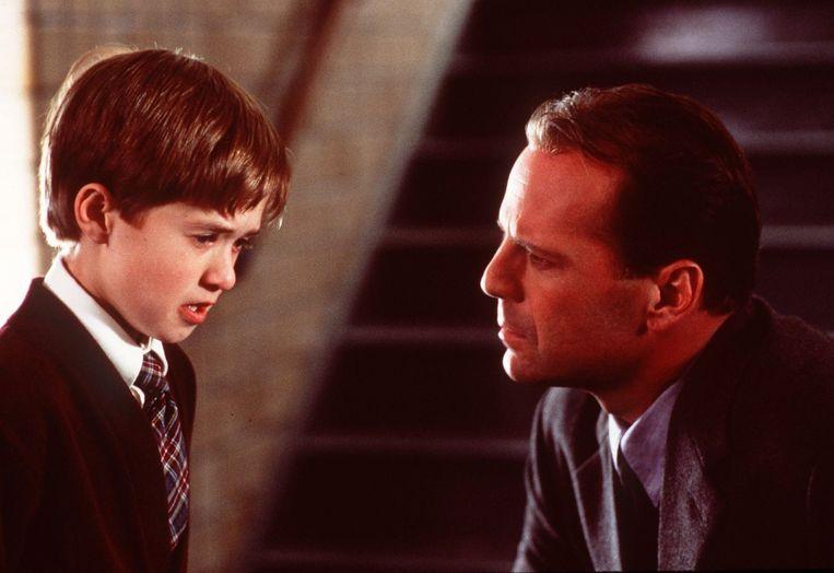 Haley Joel Osment en Bruce Willis