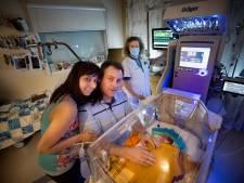 Spannende verhuizing in MMC Veldhoven: Mikai en andere kleine baby's naar nieuwe couveuses