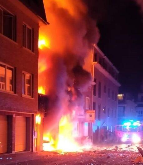 Deux blessés graves après une explosion et un incendie dans une habitation de Grammont