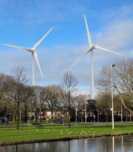 Kans op geen drie maar negen windmolens bij Hartelbrug