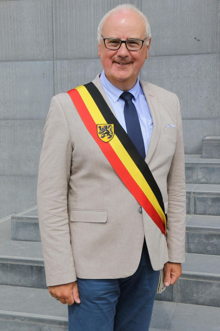 Burgemeester Alain Wyffels is lijsttrekker.