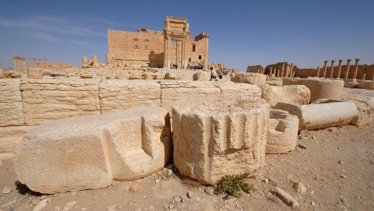 De Tempel van Bel in volle glorie. Beeld REUTERS