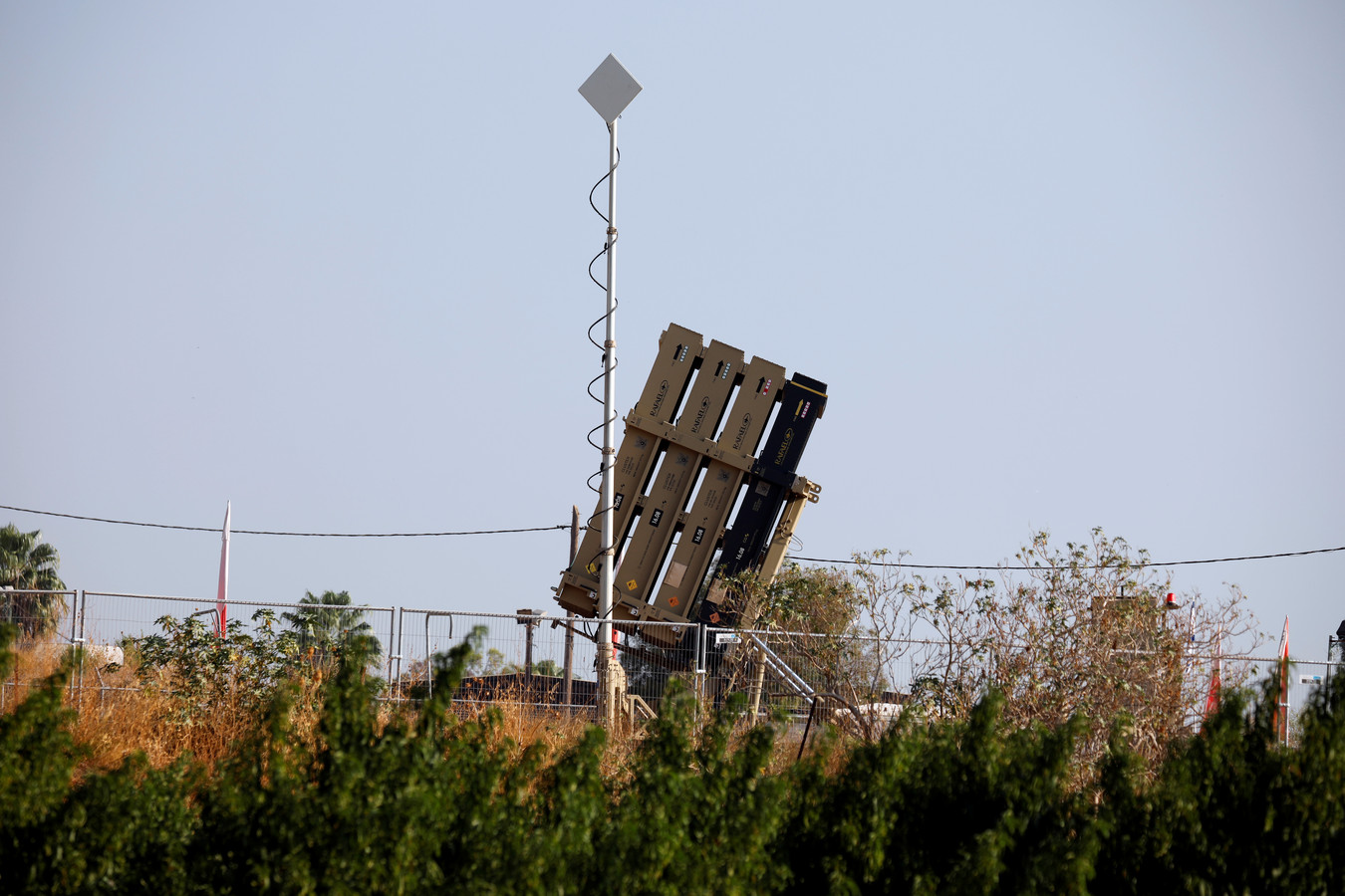 Le système antimissile Dôme de fer.