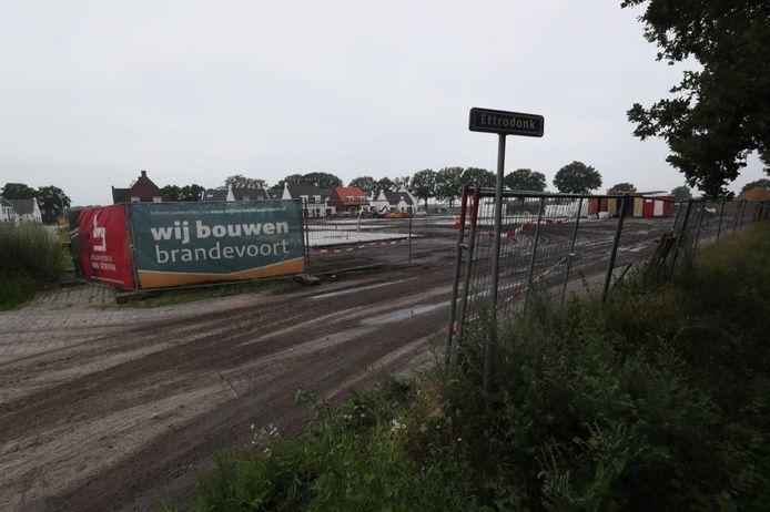 Bouwlocatie Ettrodonk in Brandevoort in Helmond.