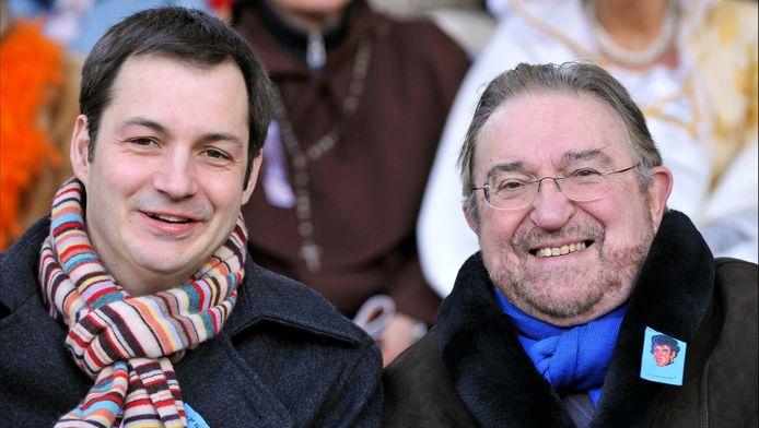 Alexander (L) en Herman (R) De Croo.