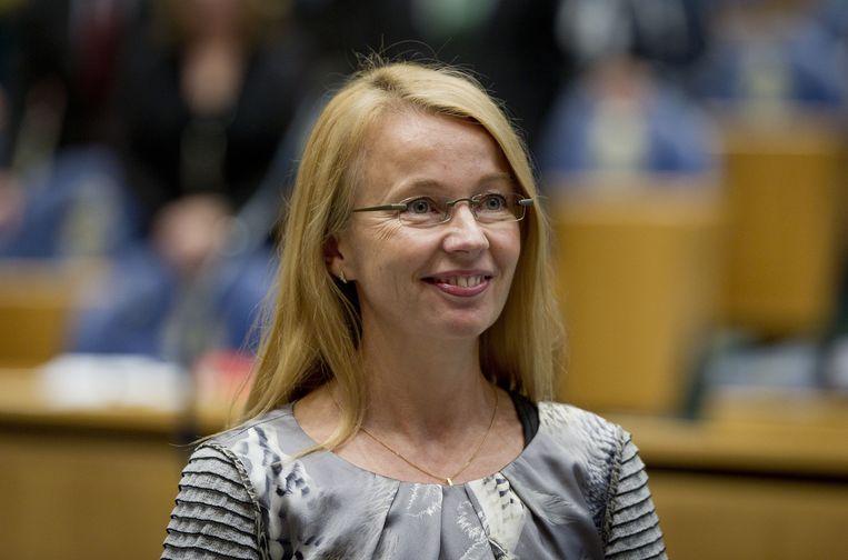 Kamerlid Ybeltje Berckmoes-Duijndam is het minst opvallenste Kamerlid Beeld anp