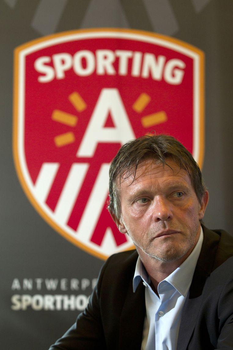 Een jaar geleden werd Vercauteren na een korte passage ontslagen bij Sporting Lissabon. Beeld BELGA