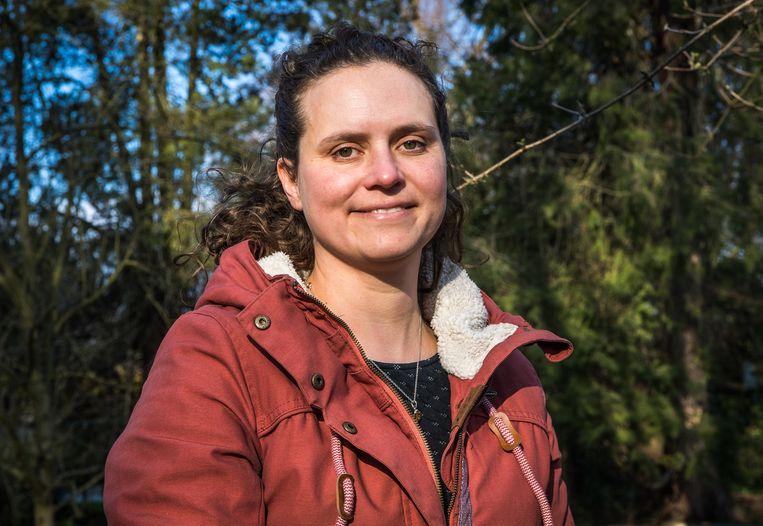 Professor  Sophie Gryseels Beeld Joel Hoylaerts / Photo News